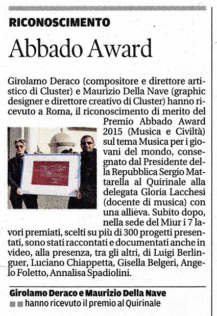Abbado Award il Tirreno